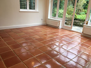 Terracotta floor cleaner cleaning waxing