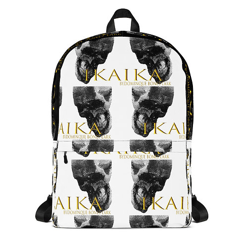 Backpack All over Skull Print