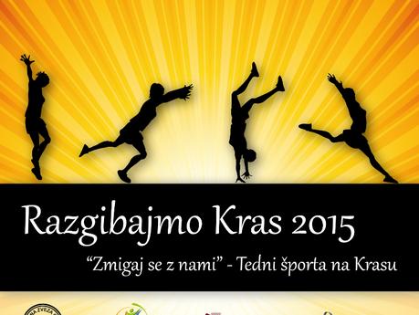 Otvoritev projekta Razgibajmo Kras - Tedni športa na Krasu 2015