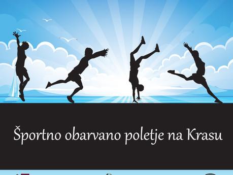 Športno obarvano poletje na Krasu - POZIV