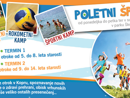 POLETNI ŠPORTNI KAMP 2015