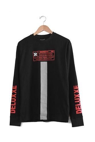 R-Rated LongSleeve Tshirt Black