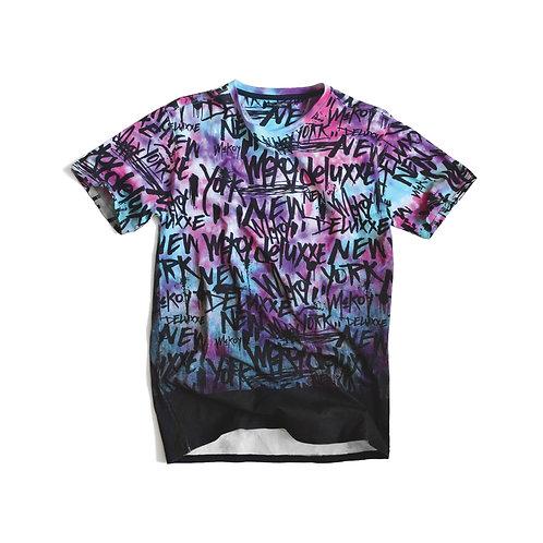 Graffiti Galaxy Dye T-Shirt