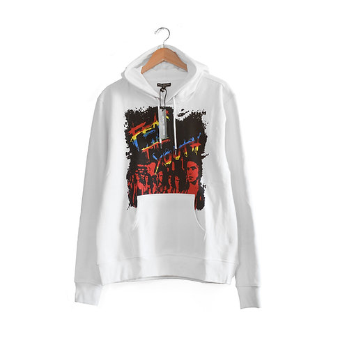 Fear The Youth Hoodie White