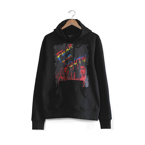 Fear The Youth Hoodie Black
