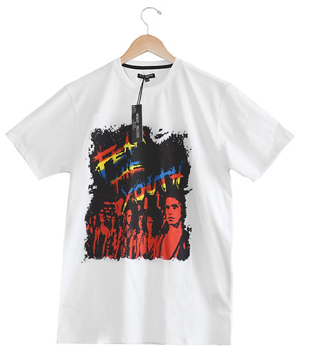 Fear The Youth Tshirt White