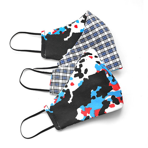 WarFare Reversible Face  Cover 2-Pack