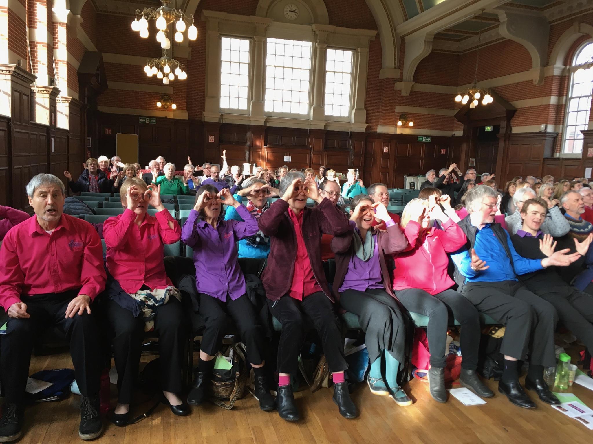 Tale Valley Choir|SfP Reading 2019
