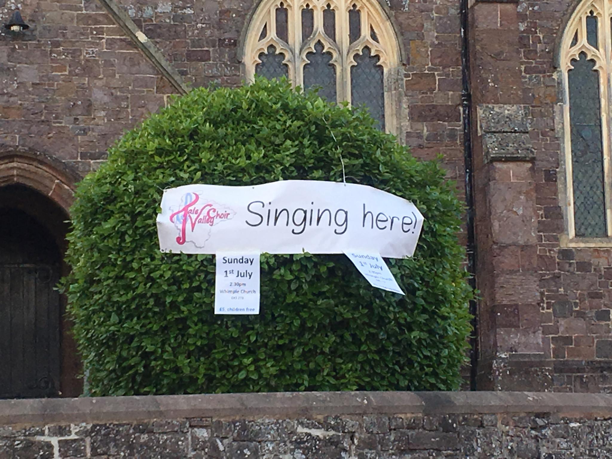 Tale Valley Choir|banner