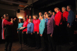 Tale Valley Choir with Semi Toned