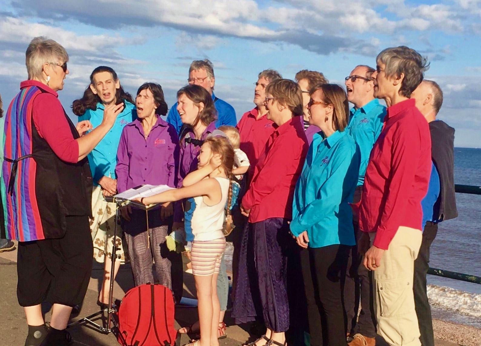 Tale Valley Choir|Sidmouth Folk Week