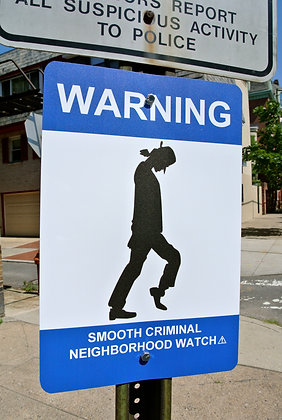 """Smooth Criminal Neighborhood Watch"""