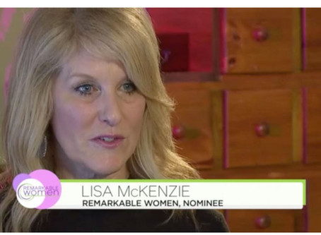 "NATIONAL ""Remarkable Woman"" CAMPAIGN names You Night Founder Lisa McKenzie as a finalist!"