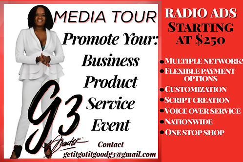 Starter Radio Ad Promotional Package