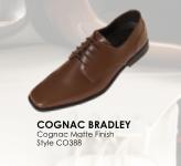 Cognac Bradley Brown Leather Shoe