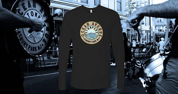 Black Long Sleeve Shirt Circle Logo