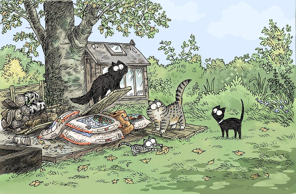 Simon's Cats illustration