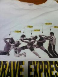 勇者特急Tシャツ
