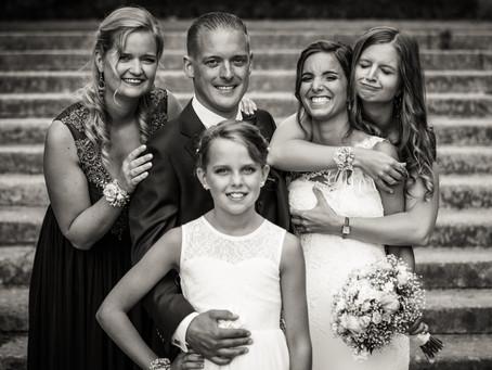 5 tips voor stressvrije familieportretten op je trouwfeest