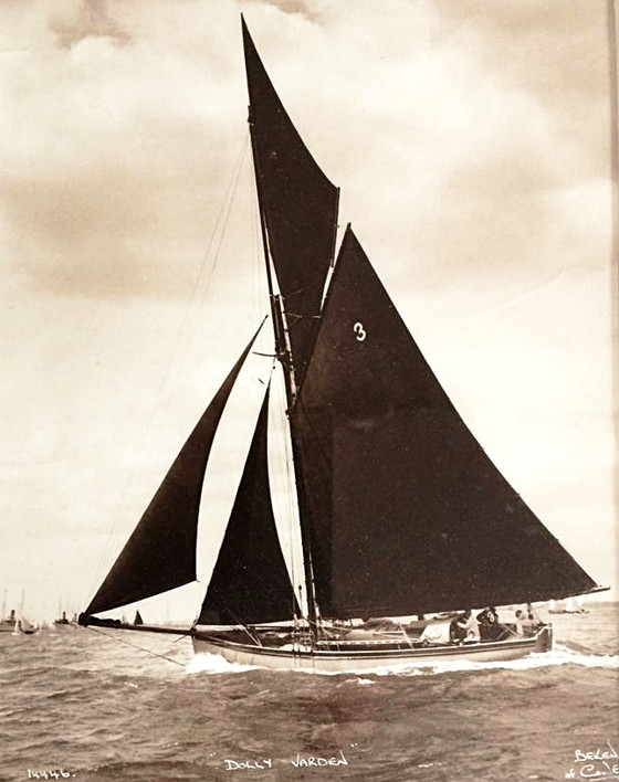 Dolly Varden, the 146 year old classic racing yacht, is saved by the Classic Boat Museum