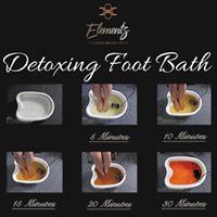 Detoxing Foot Bath