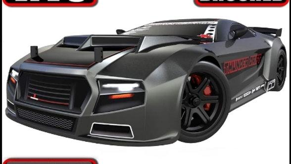 Thunder Drift Car 1/10 Scale Belt Drive Electric
