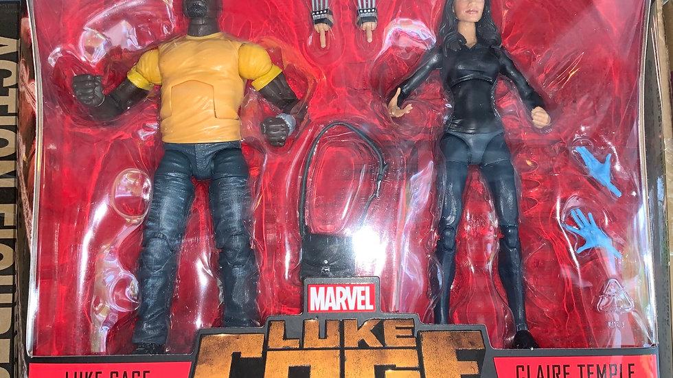 Marvel Legends Luke Cage & Claire Temple