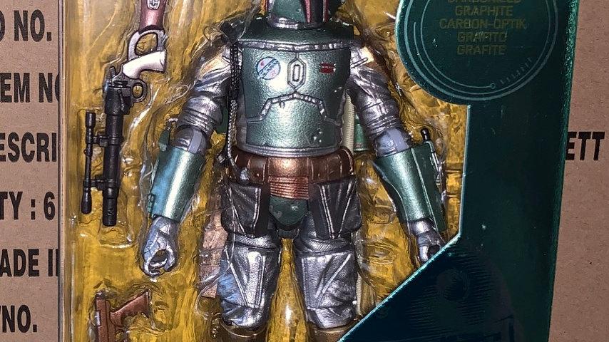 Star Wars Carbonized Boba Fett