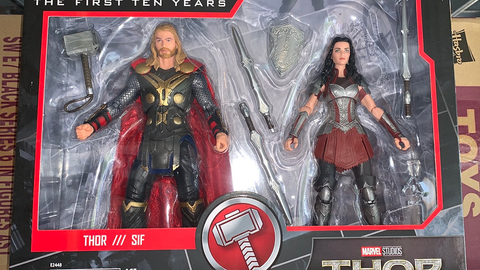 Marvel Legends Thor & Sif