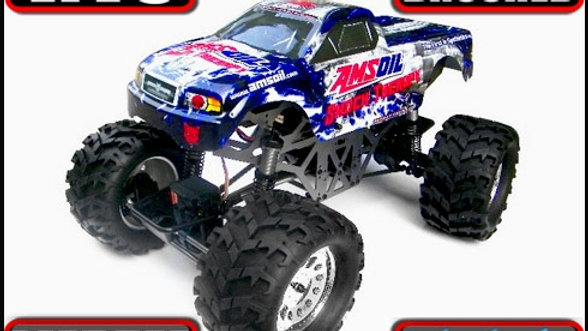 Ground Pounder 1/10 Scale Electric Monster Truck