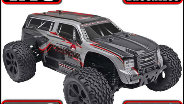 Blackout™ XTE Pro Truck 1/10 Scale Brushless Electric