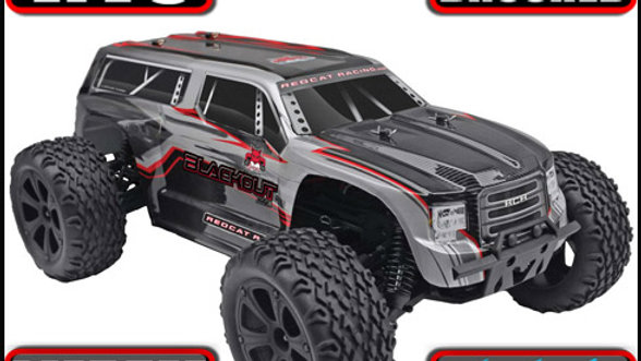 Blackout™ XTE Truck 1/10 Scale Electric