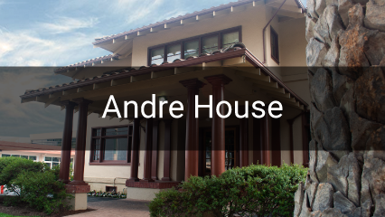 Andre House & Saint Joseph Garden