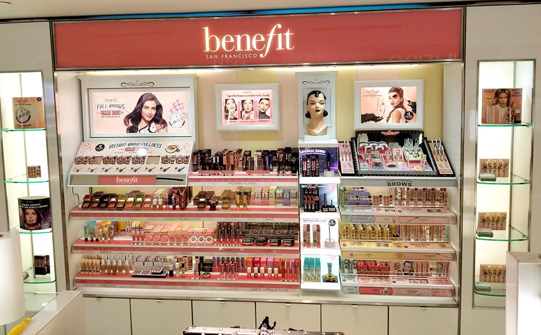 benefit display