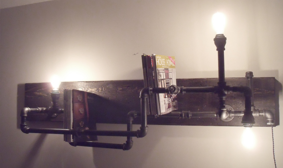 BOOKRACKPIPE LIGHT