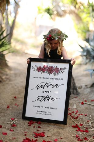 Dark + Regal Styled Wedding