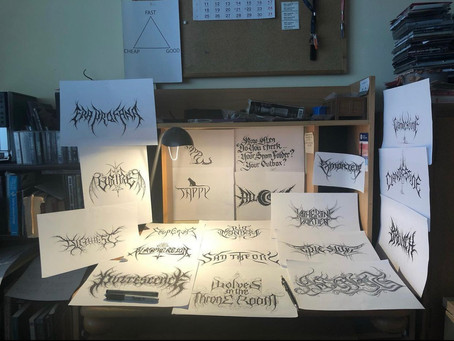 Christophe Szpajdel: Devon Open Studios