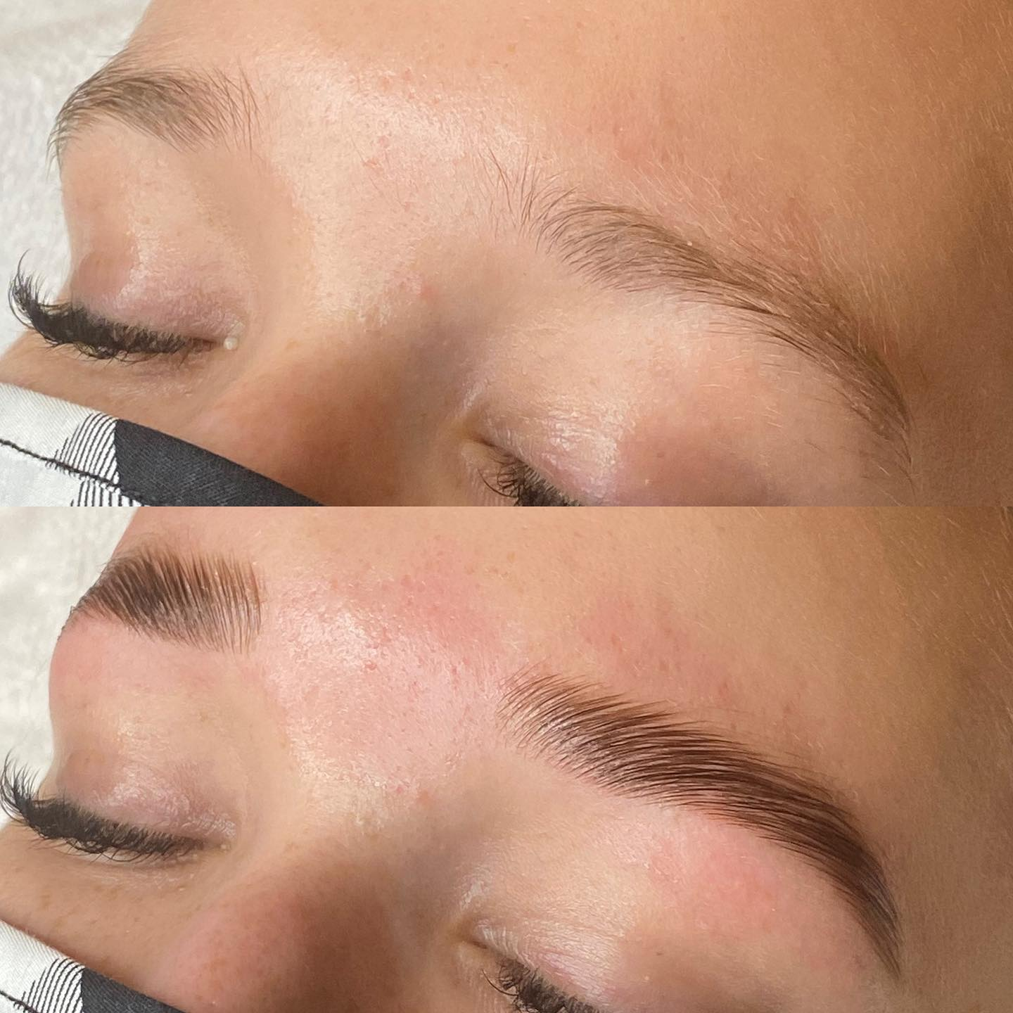 Brow Lamination, Wax, & Tint