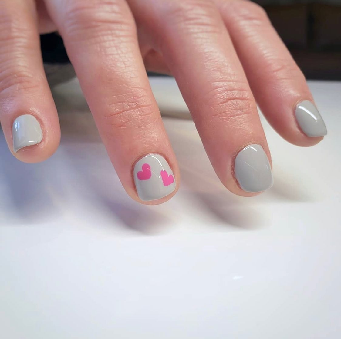 Dazzle Dry Manicure with Nail Art