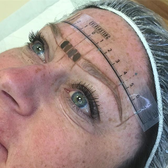 Microblading Brow Mapping