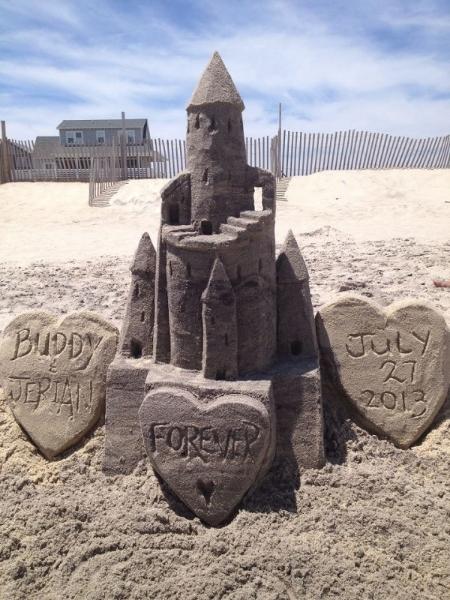 Ceremony Sand Castle