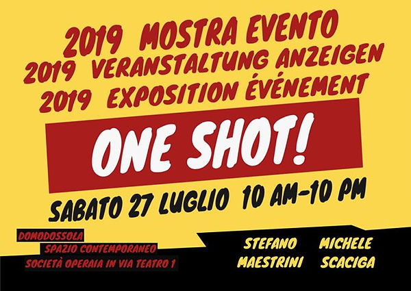 one shot!