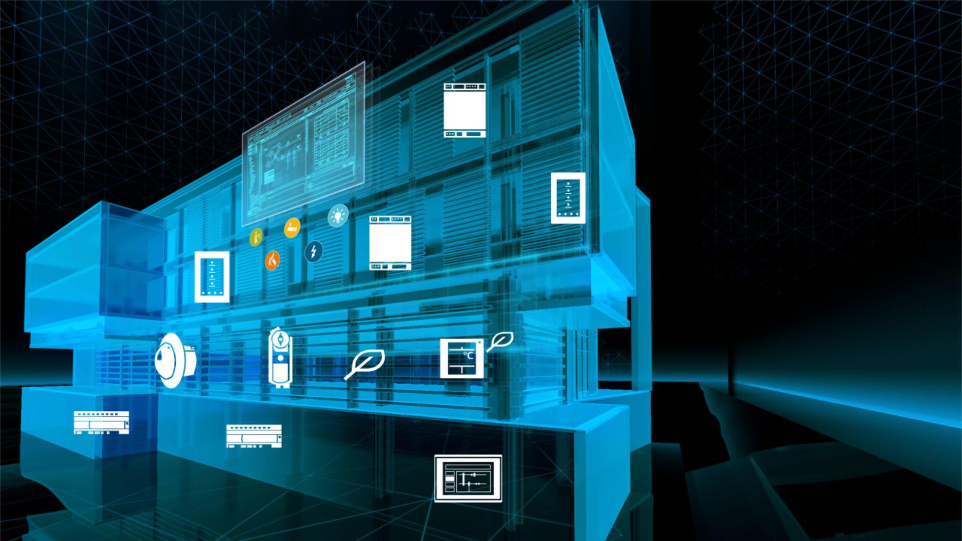 نظام التحكم وربط المباني في إدارة الطاقة B M S بوابة