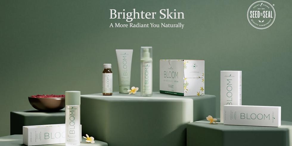 不需用化學有害物都可美白抗衰老 - BLOOM Your Skin Inside Out!