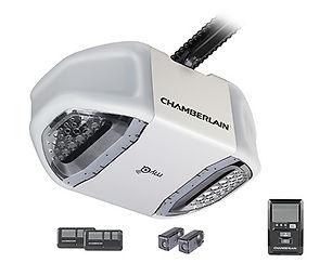 Chamberlain 3/4 HP MyQ Enabled Chain Drive Garage Door Opener - Door Tech Garage Door Services