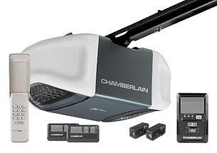 Chamerlain 1/2 HP myQ Belt Whisper Drive Garage Door Opener - Door Tech Garage Door Services