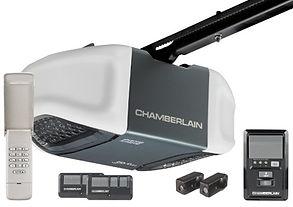 Chamberlain Belt Drive opener with Battery Backup - Door Tech Garage Door Services