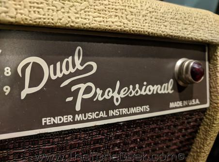New Gear Day: Fender Custom Shop Dual Professional Tube Amplifier