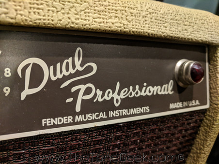 New Gear Day: Fender Custom Shop Dual Professional Tube Amplifier
