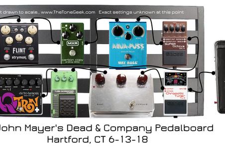 Dead & Company Pedalboard + Amps | Hartford, CT 06-13-18